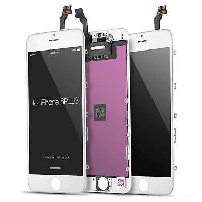 For iPhone 6 Plus 5-5 LCD Display Touch Screen Digitizer Replacement LCD White
