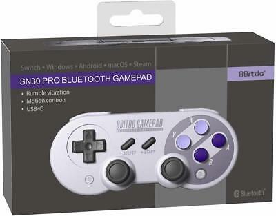 8Bitdo SN30 Pro Controller Windows macOS - Android - Nintendo Switch