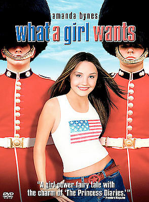 What a Girl Wants DVD MOVIE Full Frame Amanda Bynes Colin Firth NEW
