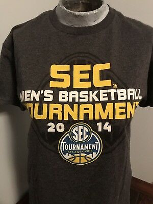 Mens SEC Tournament Tshirt Size Medium 2014 Atlanta Basketball