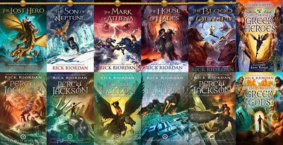 The PERCY JACKSON Collection By Rick Riordan 12 MP3 Audiobook Collection