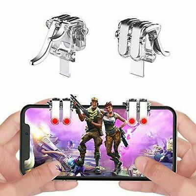 NEW PUBG and Fortnite Mobile Phone Controller Aim Triggers Joystick android iOS