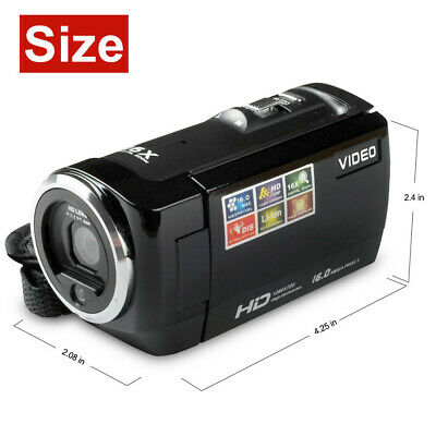 FULL HD 1080P 24MP LCD 18X ZOOM Night Vision Digital Video DV Camera Camcorder