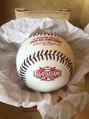 Rawlings 2015 All Star Game Official MLB Game Baseball Cincinnati Reds With Box