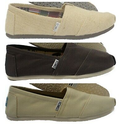TOMS Classics Womens Slip-On Flats Ballet Shoes
