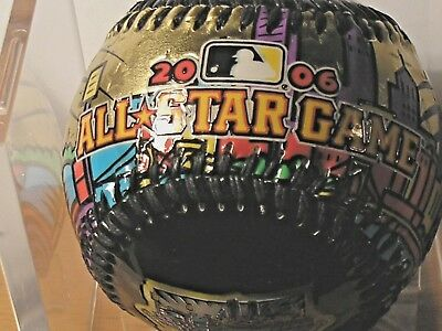 2006 all-star game baseball gold MLB PITTSBURGH rawlings collectible P N C PARK
