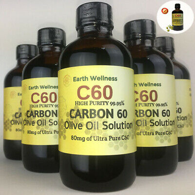 C60 Olive Oil 100ml Fullerene Carbon 60 High Purity 99-99 FAST SHIPPING