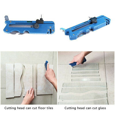 11 in 1 Multifunction Glass Tile Cutter Metal Cutting Kit Hand Tool Supplies