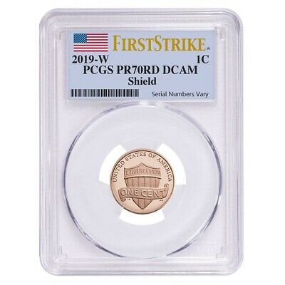 2019 W Proof Lincoln Penny Cent Comm- PCGS PF 70 FS