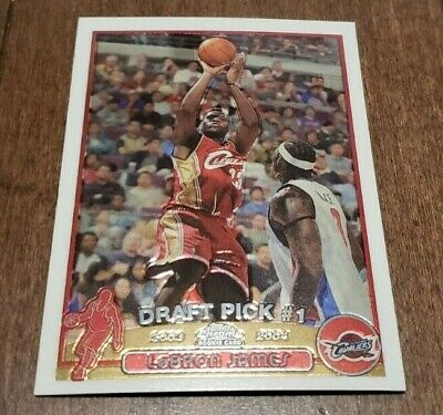 LEBRON JAMES 2003-04 TOPPS CHROME ROOKIE CARD RC  111 MINT CONDITION PACK FRESH