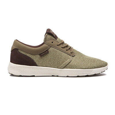 Supra Hammer Run Shoes OliveBone Mens Athletic Knit Mesh Running Sneakers