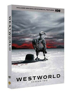 Westworld The Second Season 2 Two DVD 2018 3-Disc Set US SELLER