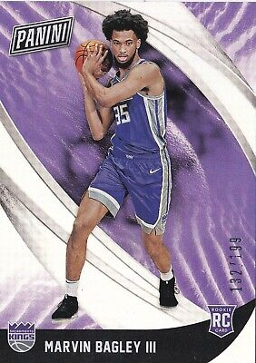 2018 Panini Black Friday Basketball MARVIN BAGLEY III 199 42 Rookie RC Kings