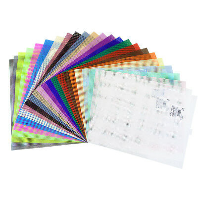 Darice Plastic Canvas Sheets - 10 12 x 13 12 - Choose From Many Colors
