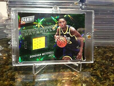 2017  Cyber Monday Donovan Mitchell REFRACTOR ROOKIE RC PATCH RELIC SP 410 HOT