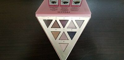 Sephora The Delicate Palette 9 MATTE - SHIMMER SHADES 100 AUTHENTIC New Box