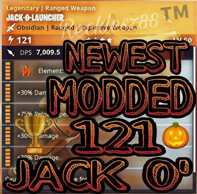 Modded 121 Jack O Launcher - Fortnite Save the World