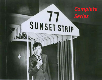 77 SUNSET STRIP COMPLETE SERIES ON DVD ALL 206 EPIDODES FANTASTIC QUALITY