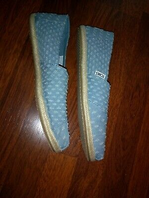 Toms slip on womens size 10