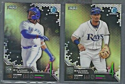 2019 Bowman Chrome Scouts Top 100 Inserts COMPLETE YOUR SET You Pick