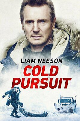 Cold Pursuit DVD 2019 Brand New Unopened