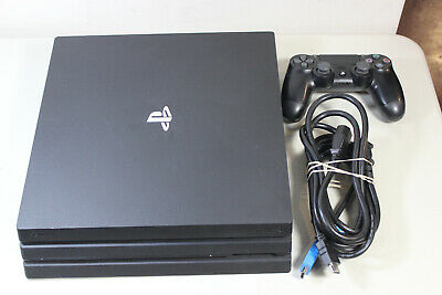 Sony PlayStation 4 PS4 PRO CUH-7015B Game System Console GREAT BKE