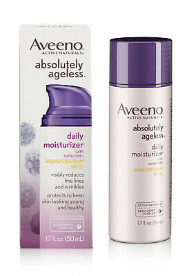 Aveeno Absolutely Ageless Daily Moisturizer Sunscreen Broad Spectrum SPF30 1020