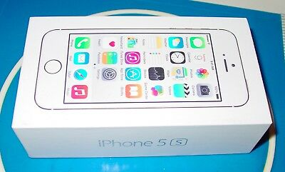 Apple iPhone 5s - Box Only With Stickers Inserts and Earplug Case No Phone