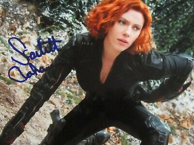 Scarlett Johansson Coa with Signed Collection Photo