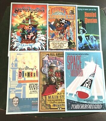 DISNEY POSTER 6 PACK - ANY 6 12X18 DISNEY POSTERS IN OUR STORE
