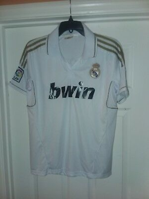 Mens Real Madrid Shirt Ronaldo bwin 7 Soccer Jersey Size Large L