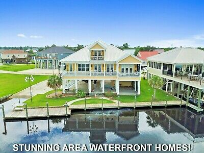 FULL PRICE AUCTION BEAUTIFUL WATERFRONT PROPERTY WITH GULF OF MEXICO ACCESS