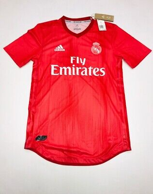 MENS ADIDAS REAL MADRID THIRD SOCCER JERSEY SIZE LARGE NWT 130 DP5441