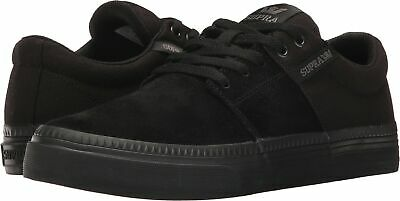 Supra Mens Stacks II Vulc Hf Shoes Size 10 Black-Black