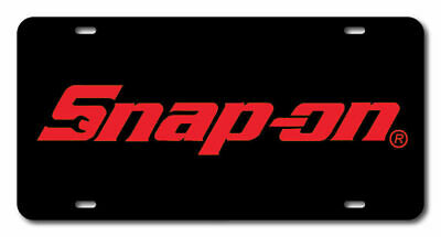 Snap-On Tools License plate novelty car vanity tag mechanic wrenches ratchets