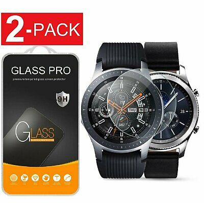 2-Pack For Samsung Galaxy Watch 41424546mm  Tempered Glass Screen Protector