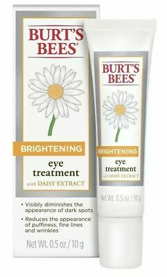 BURTS BEES BRIGHTENING Eye Treatment with Daisy Extract 0-5oz - New in Box