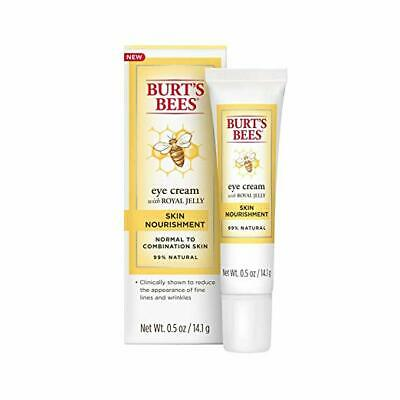 Burts Bees Skin Nourishment Eye Cream with Royal Jelly 0-5oz - New in Box
