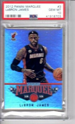 2012 Panini Marquee LeBron James 3 - PSA - 10 -  POP 4