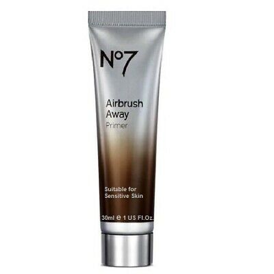 Boots No7 Airbrush Away Primer Base Suitable for Sensitive Skin 1oz 30ml NIB