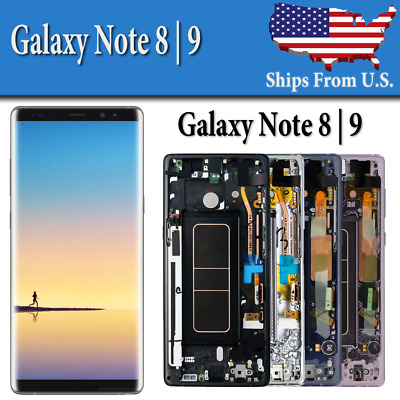 Samsung Galaxy Note 8  9 LCD Replacement Display Screen Digitizer Frame OEM C