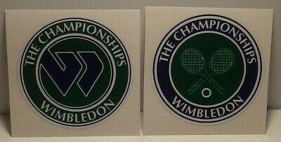 2 WIMBLEDON - The CHAMPIONSHIPS 2-5 size DIY Stickers Decals Great for YETI