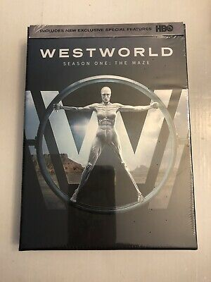 WEST WORLD Season One  The Maze  DVD