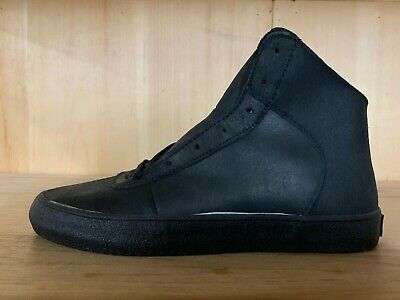 SUPRA CUTTLER BLACK WAXED SUEDE BLACK CASUAL SHOES CONDITIONAL MENS SZ 7  S35042