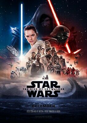 Star Wars IX Rise of the Skywalker 2019 Movie Poster 24x 36 USA SELLER