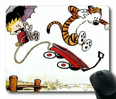 Calvin and Hobbes Mouse PadMouse Mat Rectangle