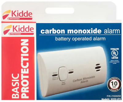 Kidde 9CO5-LP2 Carbon Monoxide Alarm Battery Operated 2AA included - New in Box