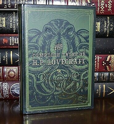 NEW Complete Tales Of H-P- Lovecraft Cthulhu Sealed Collectible Hardcover Gift