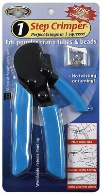 Bead Buddy 1 Step Crimper Tool Crimps In One Squeeze Fits Crimp Tubes - Beads
