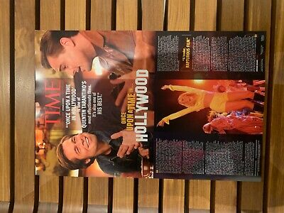 ONCE UPON A TIME IN HOLLYWOOD  11 X 17 MOVIE POSTER - TARANTINO - COLLECTIBLE